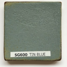 Northcote Stoneware SG600 Tin Blue Satin Brush On Glaze 500mL)