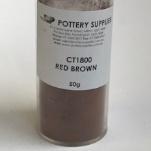 Stain Red Brown CT1800 50g