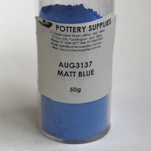 Stain Matt Blue AUG3137 50g