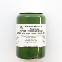 Underglaze Screen Printing Colour UGPR54 Verant Green 120mL