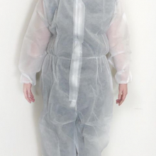 Disposable Polypropylene Overalls - White