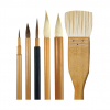 Mixed Brush Set (6 Brushes) BK05