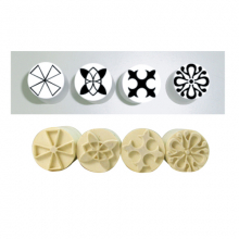 Poly Stamp Set (4 Single-Sided Stamps) 882/B