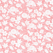 Japanese Tissue Transfer In the Wind (Pink)