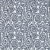 Japanese Tissue Transfer Paisley (Blue) Full Sheet