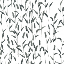 Japanese Tissue Transfer Waving Grasses Half Sheet