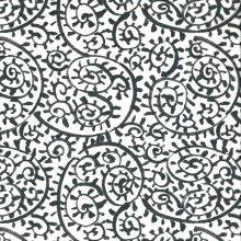 Japanese Tissue Transfer Paisley Painted Full Sheet
