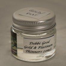 Lustre Gold/Platinum Thin Oil