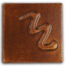 Cesco Brush On Leaded Golden Tan Rutile Matt Glaze B5042