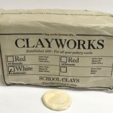 Clayworks White Earthenware School Clay