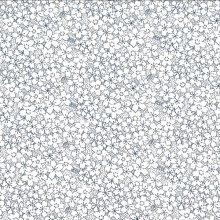 Japanese Tissue Transfer Lily Spray (Blue) Half Sheet