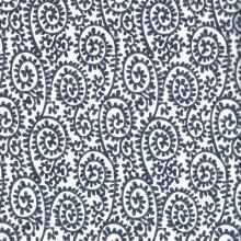 Japanese Tissue Transfer Paisley (Blue) Full Sheet